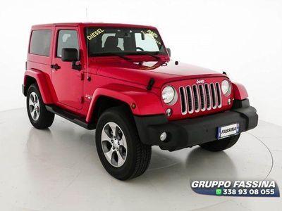 usata Jeep Wrangler 2.8 CRD 200cv Sahara AUT.