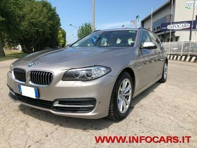 usata BMW 518 d Touring Business RESTYLING GANCIO TRAINO