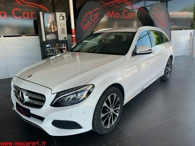 usata Mercedes C220 d s.w. 4matic auto sport diesel