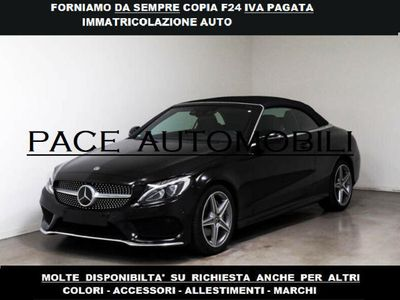 usata Mercedes C220 FORNIAMO F24 IVA PAGATA AMG PREMIUM CABRIO FULL
