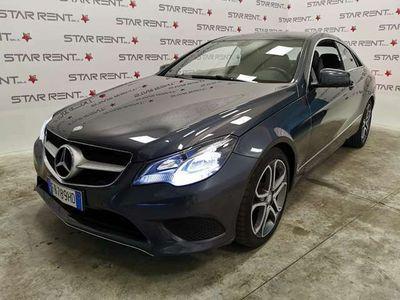 usata Mercedes E220 Coupé UNIPRO-TAGLIANDI UFFICIALI-PERFETTA