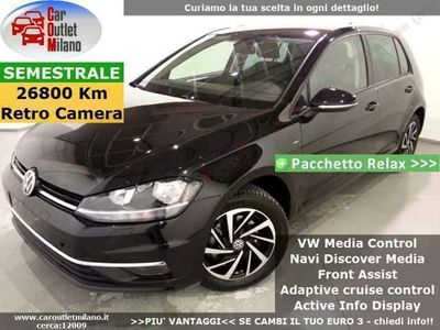usata VW Golf Join ACT DSG 2018 1.5 B 150CV 7Aut 5P Nero