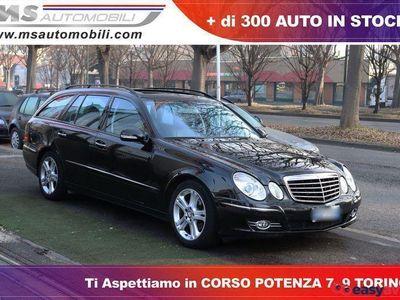 usado Mercedes E220 CDI S.W. EVO Avantgarde Automatica Tetto Pelle Uni