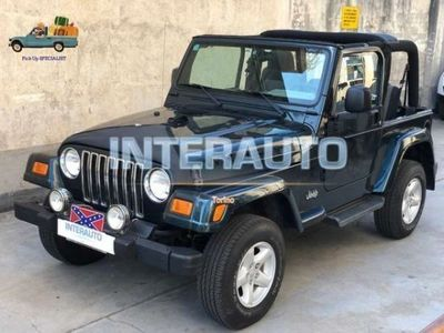 usata Jeep Wrangler 4.0 cat Sport Auto 65th Anniv. GPL *HARD+SOFT-TOP