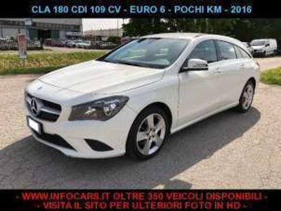 usata Mercedes CLA180 d 109 cv s.w. pochi km diesel