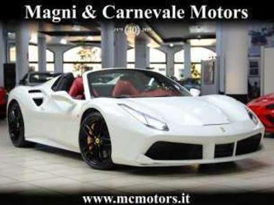 usata Ferrari 488 SPIDER|LIFT SYS|DISPLAY PASS|DAYTONA SEATS|SCUDETT Benzina