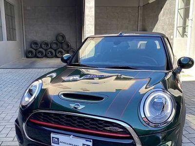 usata Mini John Cooper Works Cabriolet Cabrio 231Cv IVA 22% ufficiale 2.0 23.000km Manuale