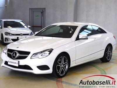 usata Mercedes E350 COUPE SPORT AUTOMATICA EURO6B PELLE LED NAVIGATORE BLUETOOTH