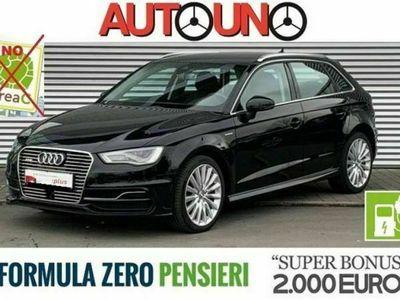 usata Audi A3 e-tron SPB 1.4 TFSI S-tronic Ambition