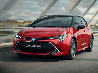 brugt Toyota Corolla Touring Sports 1.8 Hybrid Business Tech
