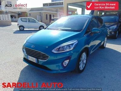 usata Ford Fiesta 1.5 TDCi Start&Stop 5 porte Titanium usato