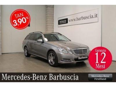 usado Mercedes E220 CDI S.W. BlueEFFICIENCY Avantgarde