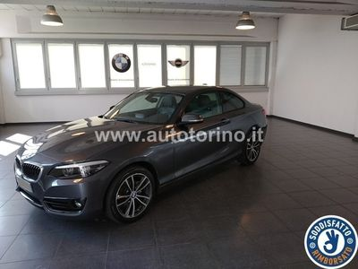 brugt BMW 218 SERIE 2 COUPE D COUPE` Sport Line