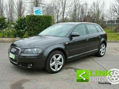 usata Audi A3 Sportback 2.0 - ATTRACTION S-TRONIC -