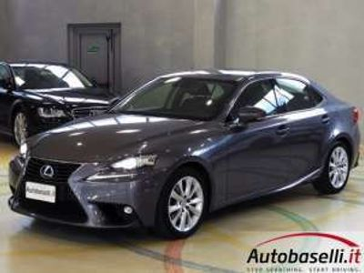 usata Lexus IS300 300H EXECUTIVE IBRIDA AUTOMATICA NAVI PELLE XENO