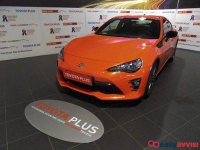 usata Toyota GT86 200cv orange limited edition+navi benzina