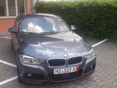 used BMW 320 d Touring Aut Msport Xdrive NAVI LED PELLE