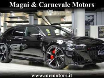 usata Audi RS6 DYNAMIC RACE PACK|CARBO|B&O 3D|LED MATRIX|KEYLESS Elettrica/Benzina
