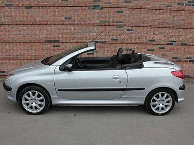 usata Peugeot 206 CC 2.0 16V