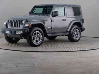 usata Jeep Wrangler 2.2 Multijet Ii Sahara Auto 4wd
