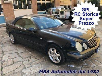used Mercedes CLK200 Cabrio Kompr. Sport - GPL - STORICA - LEGGI BENE