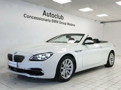 used BMW 640 Cabriolet d