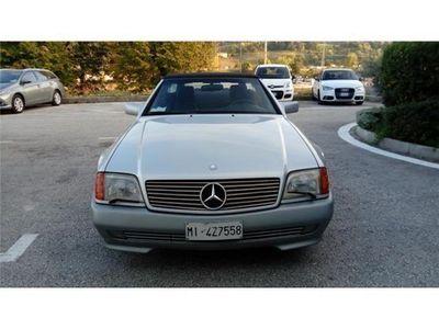 second-hand Mercedes SL500 benzina