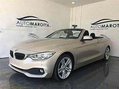 """usata BMW 420 D Serie 4 Cabrio""""SOLI KM 39000"""" PARI AL NUOVO"""