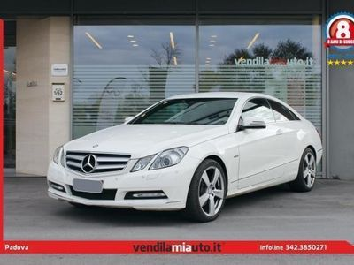 usata Mercedes E350 CDI Coupé BlueEFFICIENCY