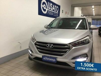 usata Hyundai Tucson 1.7 crdi Xpossible 2wd 115cv
