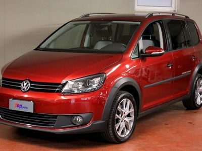 gebraucht VW Touran Cross 2.0 TDI 140PS DSG ANHÄNGEKUPPLUNG NAVI PDC ALCANTARA