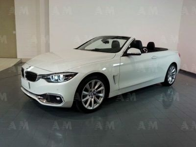 usata BMW 420 d Cabrio Luxury Automatico*TELEC+NAVI*