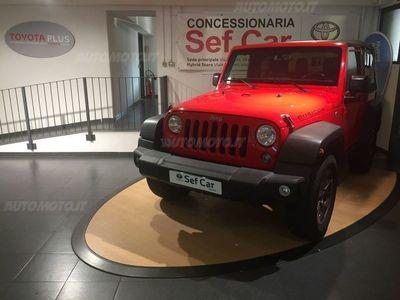 used Jeep Wrangler Unlimited 2.8 CRD DPF Recon Auto del 2017 usata a Milano