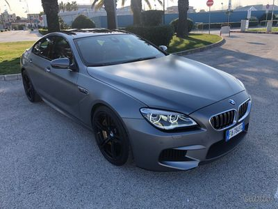 usata BMW M6 grancoupe competition dkg individual b&o ce
