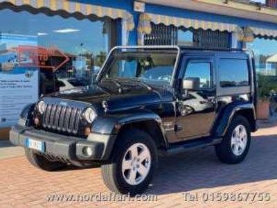 usata Jeep Wrangler 2.8 CRD DPF Sahara Diesel