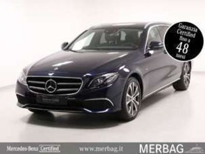 usata Mercedes E300 Classe ES.W. Auto EQ-Power Business Sport Diesel/Elettrica