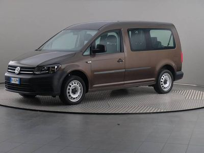 usata VW Caddy 2.0 Tdi 102cv Dsg Maxi Business Kombi 7 POSTI