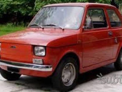 usado Fiat 126 - del 1974 storica TARGA ORO