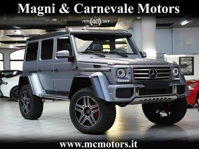 usata Mercedes G500 4x4² |TV|CAMERA|TETTO|HARMAN KARDON|CARBON PACK