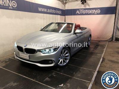 brugt BMW 420 SERIE 4 CABRIO d cabrio Advantage auto