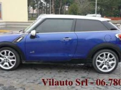 usata Mini Cooper S Paceman all4 benzina