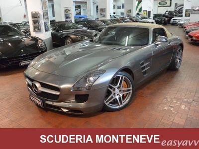 used Mercedes SLS AMG Roadster Capote beige Pelle marrone