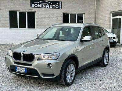 usata BMW X3 xDrive20d Pelle Navi Xeno 100.000 km !!