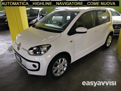 second-hand VW up! up! 1.0 movehighline 5p asg automatica benzina