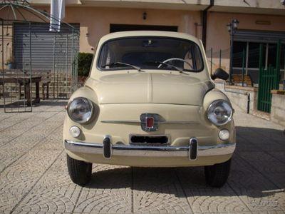 usado Fiat 600D Fanalona 1966 - Anni 60