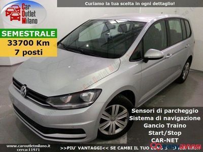 usata VW Touran Trend. TSI BMT 2017 1.2 B 110CV 6Man 5P Argento