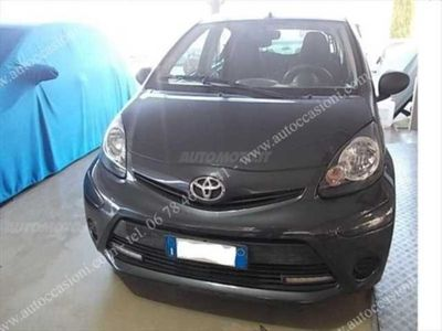 usata Toyota Aygo 1.0 12V VVT-i 5 porte Orange Connect