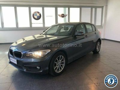 usata BMW 118 Serie 1 118 d Advantage 5p auto