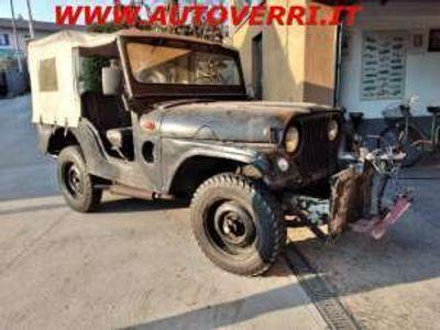 usata Jeep Willys AUTOCARRO DUE POSTI MODIFICATO A SPAZZANEVE Benzina