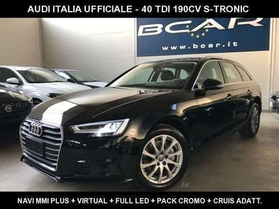 "usata Audi A4 Avant 40 TDI S tronic +Virtual+Navi+Full Led+""17 S"